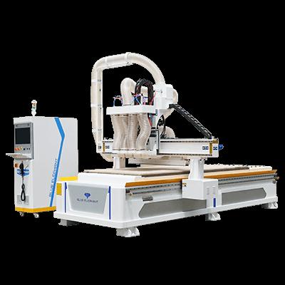 Enrutador CNC de anidación de cuatro procesos