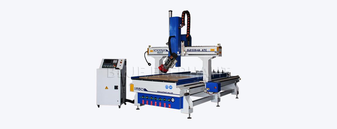 ELE 1330 4 axis atc wood carving machine