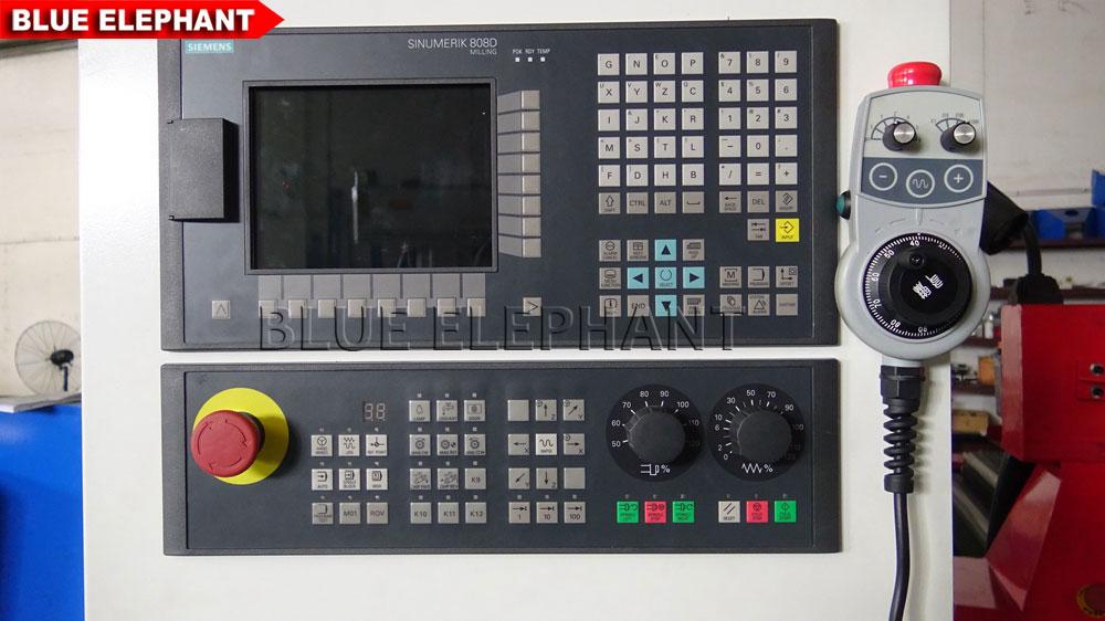 Siemens 808d Control System Blue Elephant Cnc Machine