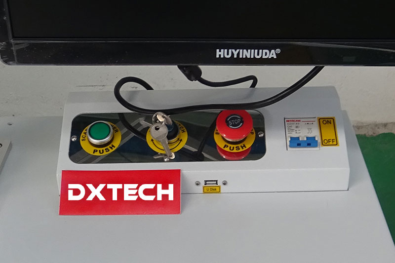 fiber laser marking machine switch