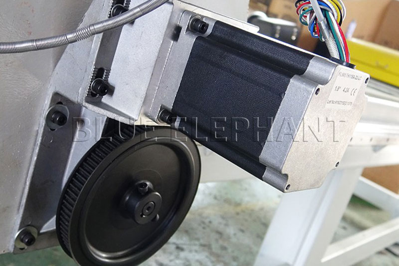 fl118 stepper motor of 1325 wood working cnc machinery with 7kw hsd spindle