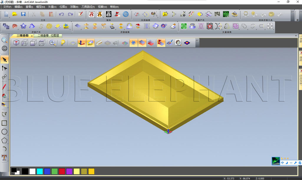artcam of 3d model