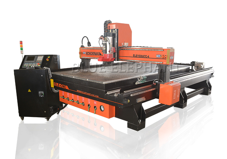 1530 atc cnc router with rotary device
