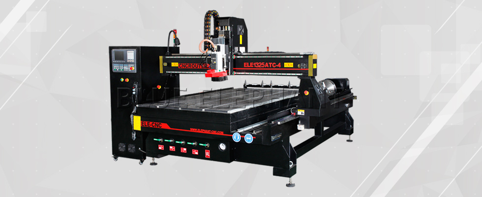 1325 4 axis linear auto tool changer woodworking machine--