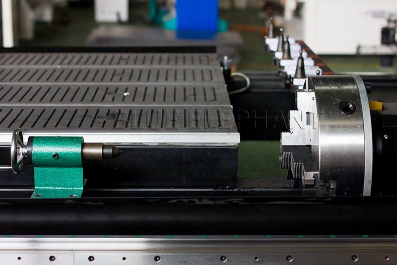 dispositivo rotatorio de la máquina de carpintería 1530 4 eje lineal automático cambiador de herramientas
