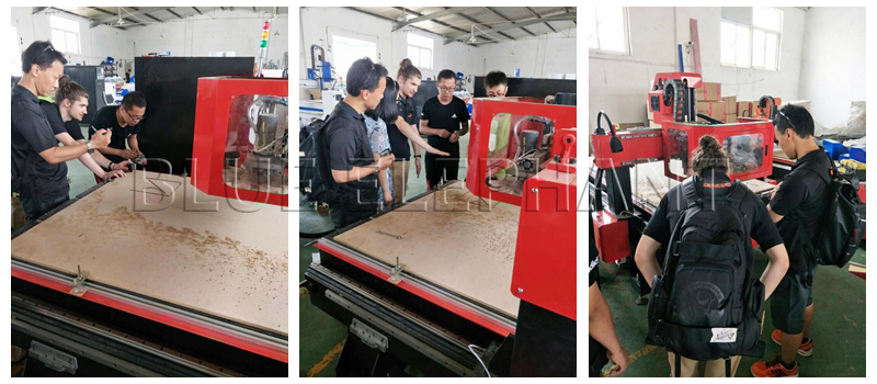 Two customers from Japan came to visit our factory on June-1