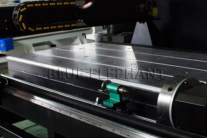rotary device of 1530 pneumatic system double spindles 4 axis cnc router