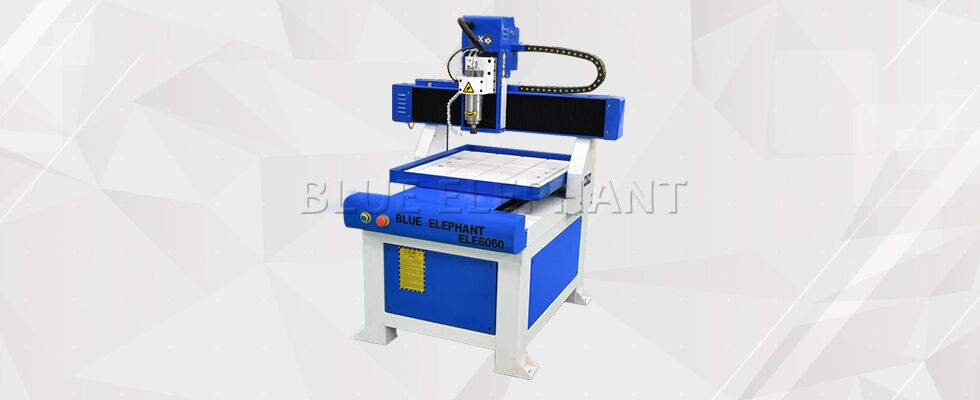ELECNC 6060 Table Moving Advertising CNC Router