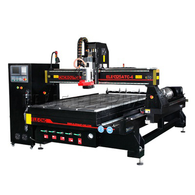 1325 4x8 ATC CNC-router met roterend apparaat