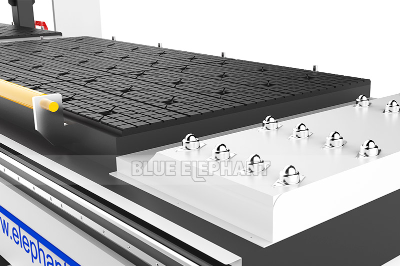 1325 Bi-Zone Pneumatic Multi Spindles CNC Engraving Router