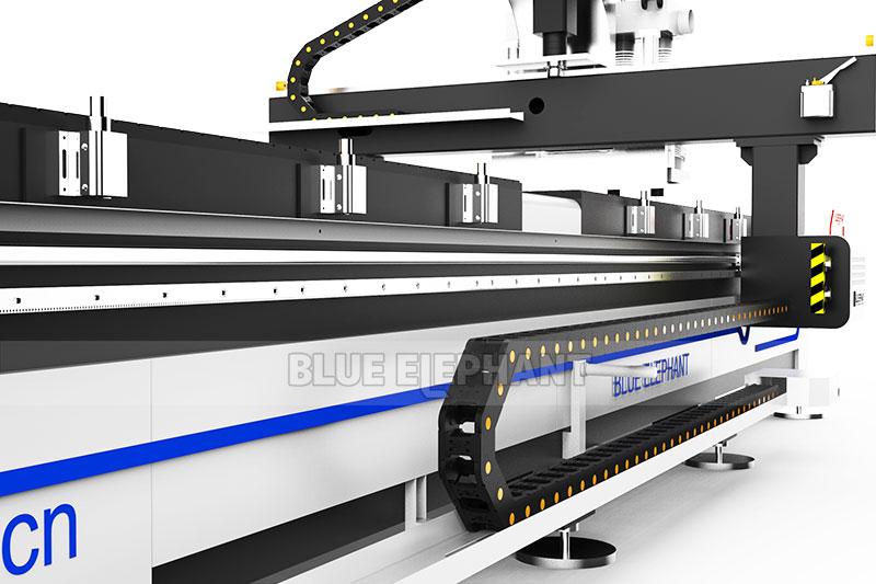 1325 Bi-Zone Pneumatic Multi Spindles CNC Engraving Router3
