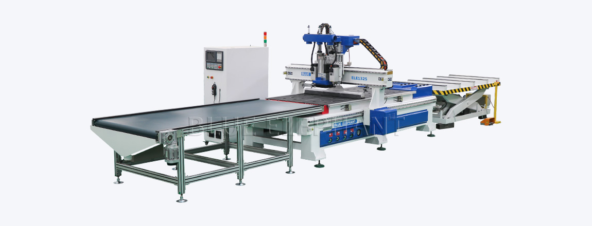 1325 CNC Router Wood Working Automatic Loading and Unloading System Machine 09