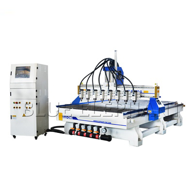 Máquina do CNC do Woodworking dos multi eixos com 8 eixos