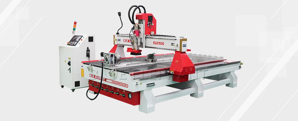 ELE1530 Automatische 3D Holzschnitzerei Graviermaschine mit Rotary09