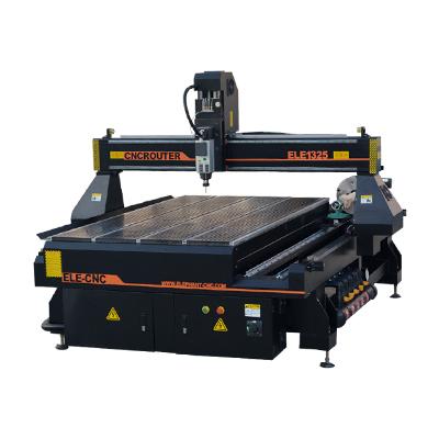 ELECNC-1325 CNC houtsnijmachine met ronddraaiend apparaat