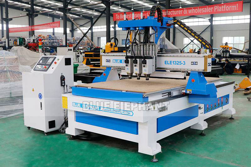 ELECNC-1325 Multi Spindle Woodworking Machine for cheap price (10)