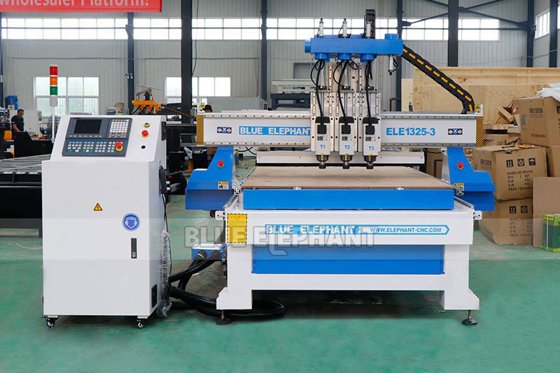 ELECNC-1325 Multi Spindle Woodworking Machine for cheap price (9)