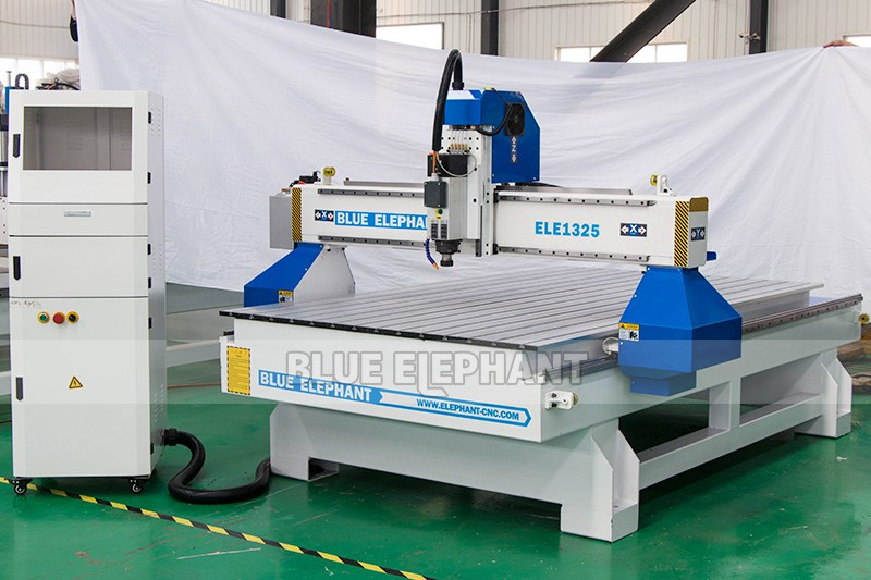 ELECNC-1325 Wood Engraving CNC Router Machine (8)