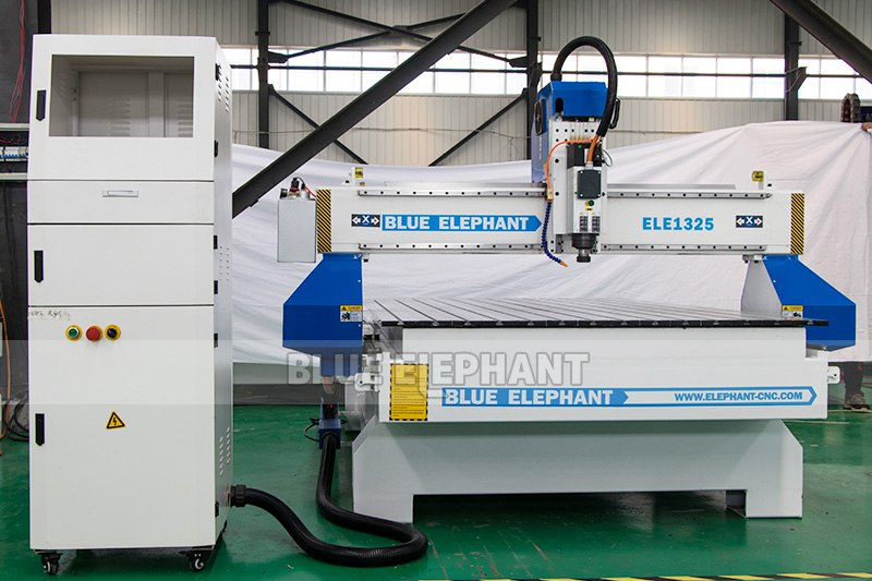 ELECNC-1325 Wood Engraving CNC Router Machine (9)