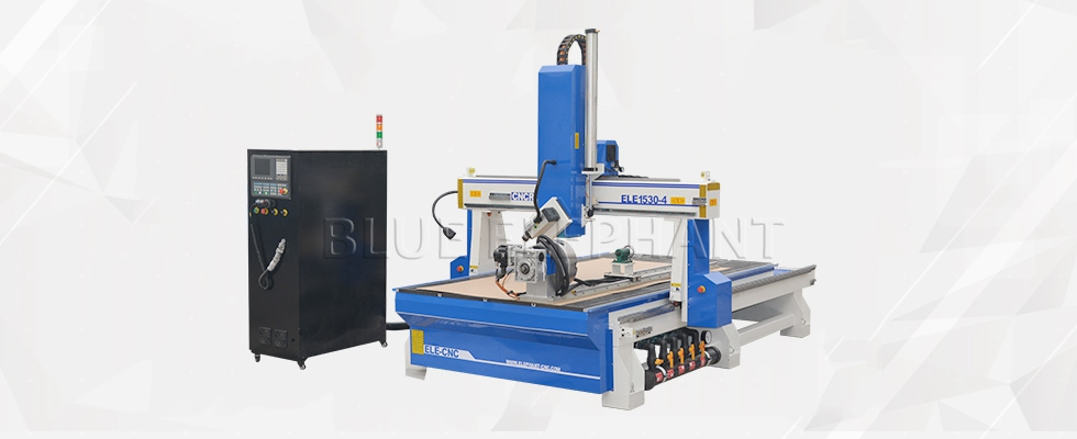 ELECNC-1530 4 Axis 3D Деревообрабатывающая машина (2)