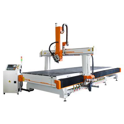 Machine de sculpture sur bois CNC 2050 3D avec broche ATC HSD