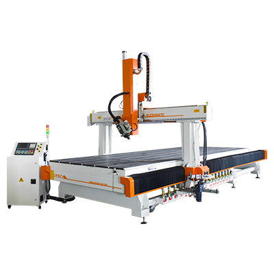 ELECNC-2050 4 Axis ATC CNC Router Machine para trabajar la madera