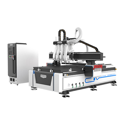 Multi-head 4-as CNC-router