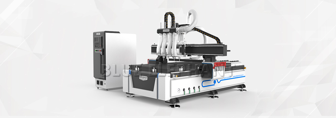 Multi-head 4 axis CNC Router1