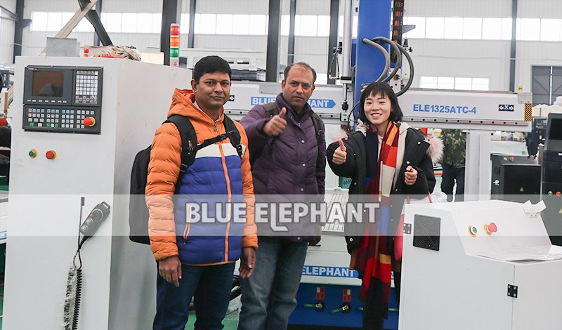 New Customers from Bangladesh for 1325 4 Axis ATC CNC Router