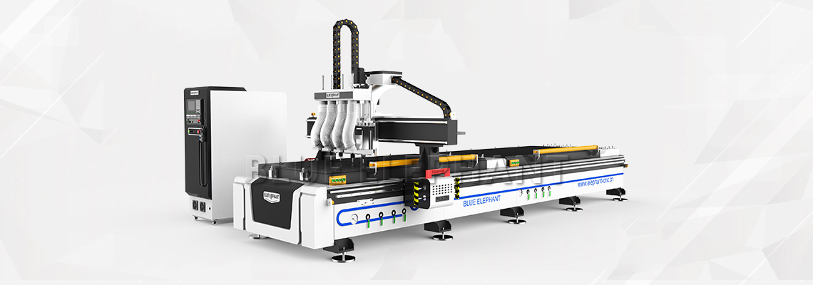 Pneumatic Multi Spindles CNC Engraving Router