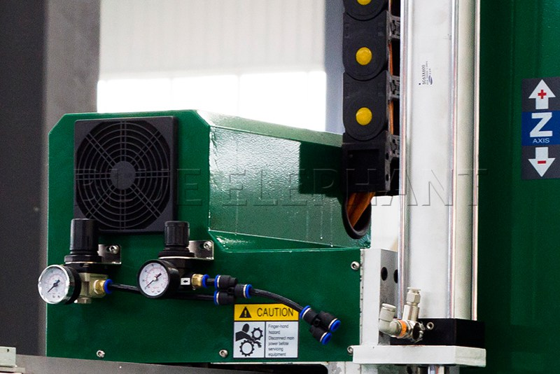details of hqd air cooling spindle