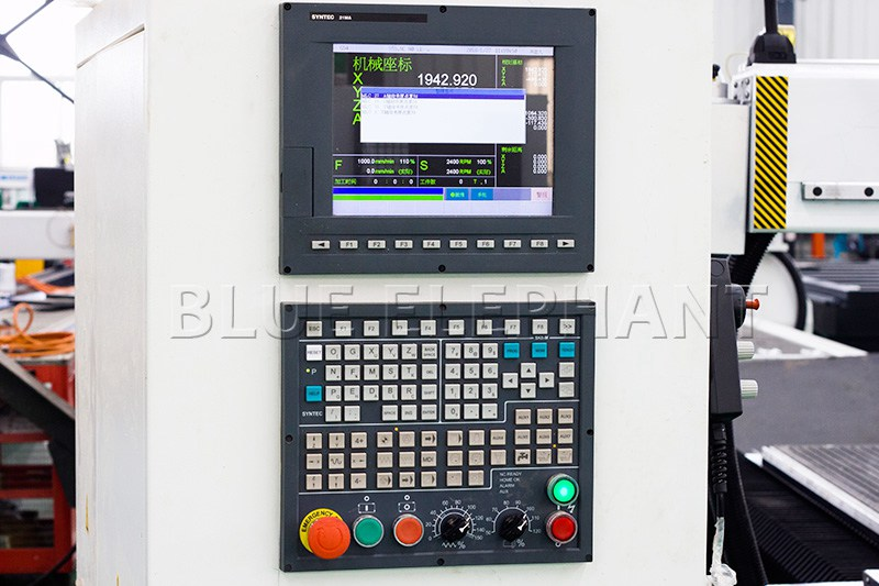 syntec 21ma control system of 1530 carousel atc spindle swing cnc router