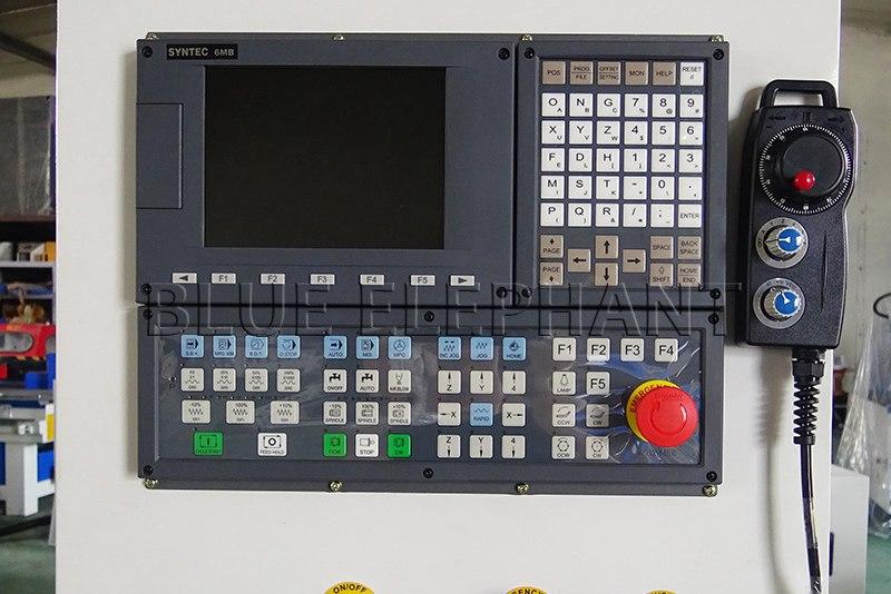 Router di cnc elecnc atc con controller syntec macchina cnc