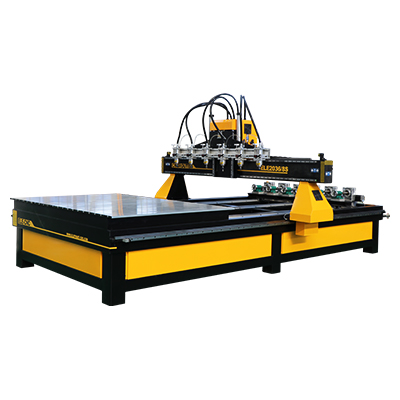 ELECNC-2036 Multi Spindles CNC Router Machine