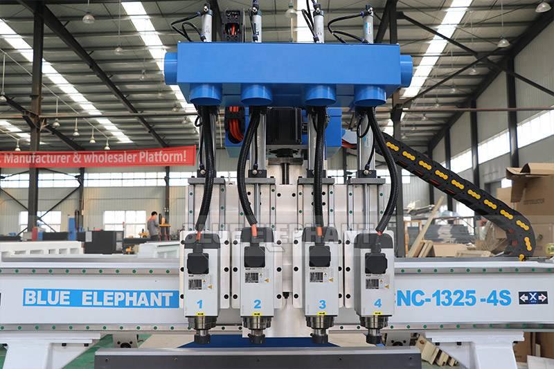 راوتر CNC من الخشب ELECNC-1325 مع مغزل 4 (8)