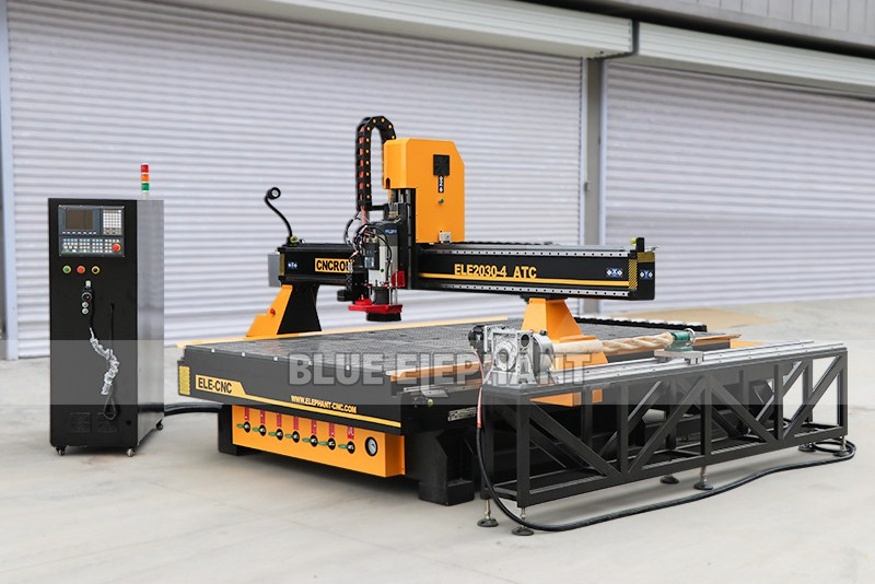 ELECNC-2030 CNC Router with Oscillating Knife (5)