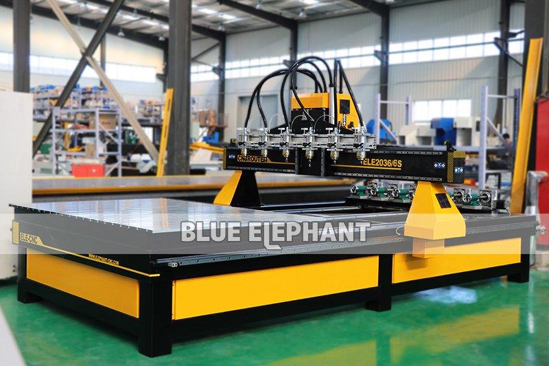 ELECNC-2036 Multi Spindles CNC Router Machine01