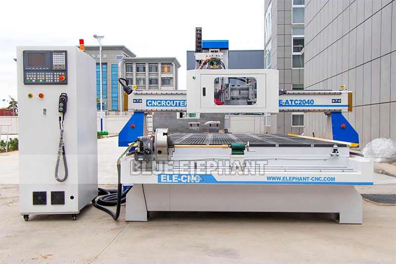 ELECNC-2040 Carrossel ATC CNC Router Machine (11)