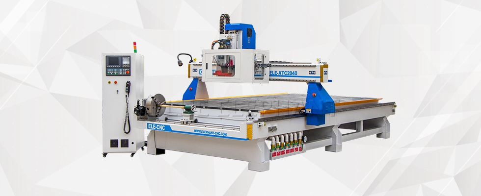 ELECNC-2040 Carrossel ATC CNC Router Machine