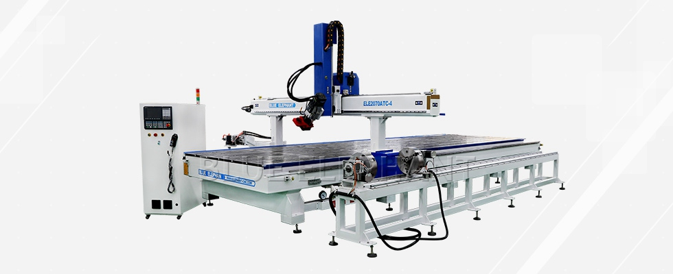 ELECNC-2070 Karussell ATC CNC Router