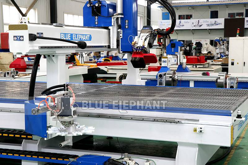 ELECNC-2070 Carousel ATC CNC Router Machine with Rotary Device 01 01