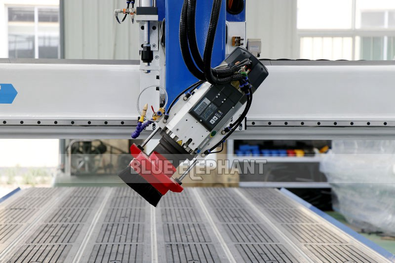 ELECNC-2070 Carousel ATC CNC Router Machine with Rotary Device 01