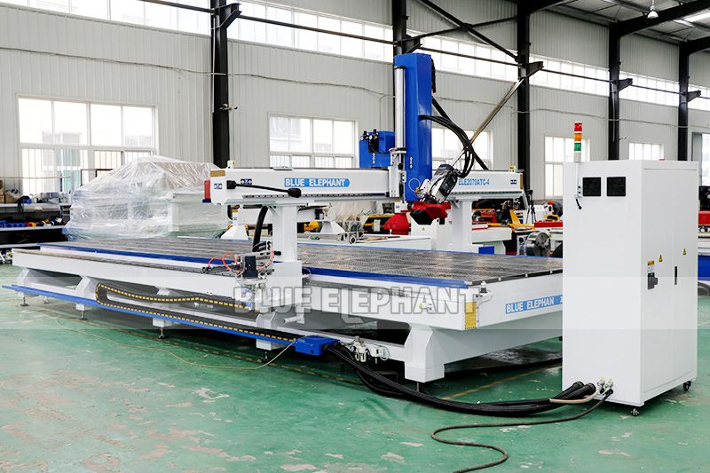 ELECNC-2070 Carousel ATC CNC Router Machine with Rotary Device 04