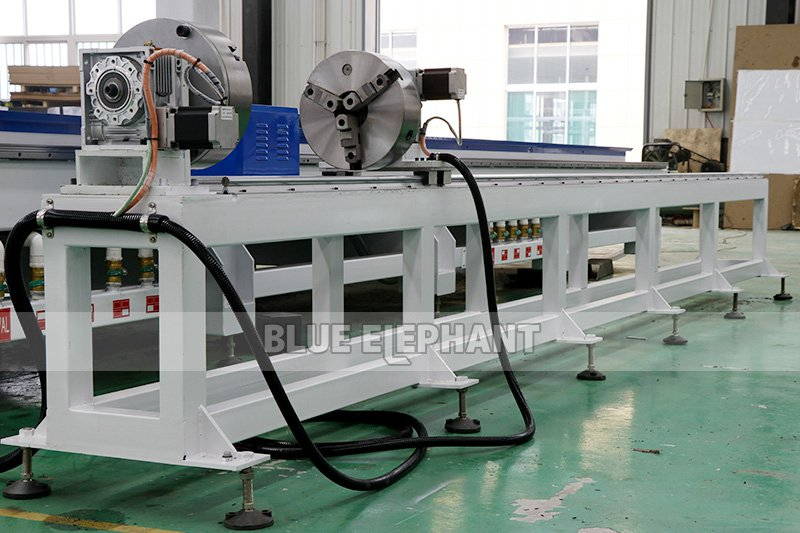 ELECNC-2070 Carousel ATC CNC Router Machine with Rotary Device 05
