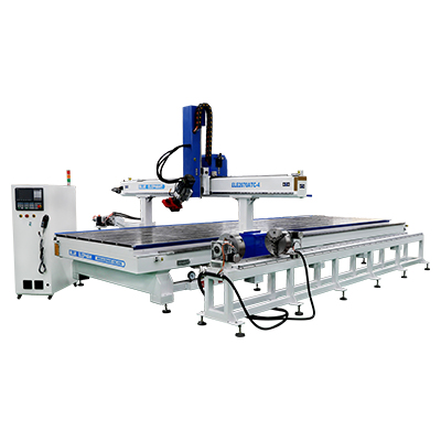 2070 Carousel ATC 4 Axis CNC Router Machine con dispositivo rotativo