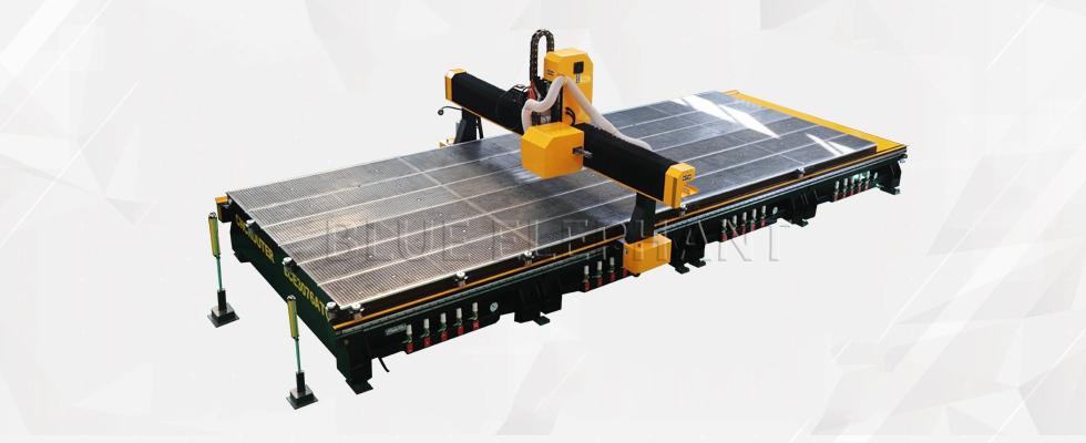 ELECNC-3076 ATC CNC-router met grote werkafmetingen