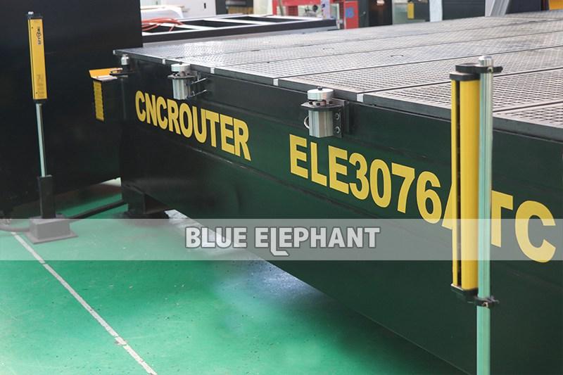 ELECNC-3076 حجم العمل الكبير ATC CNC Router04