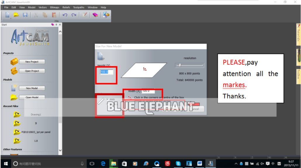 So generieren Sie 2D-Design-G-Code in Artcam 2012