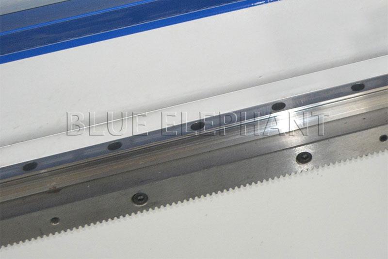 abba linear rail of 1337 cnc oscillating knife cutting machine