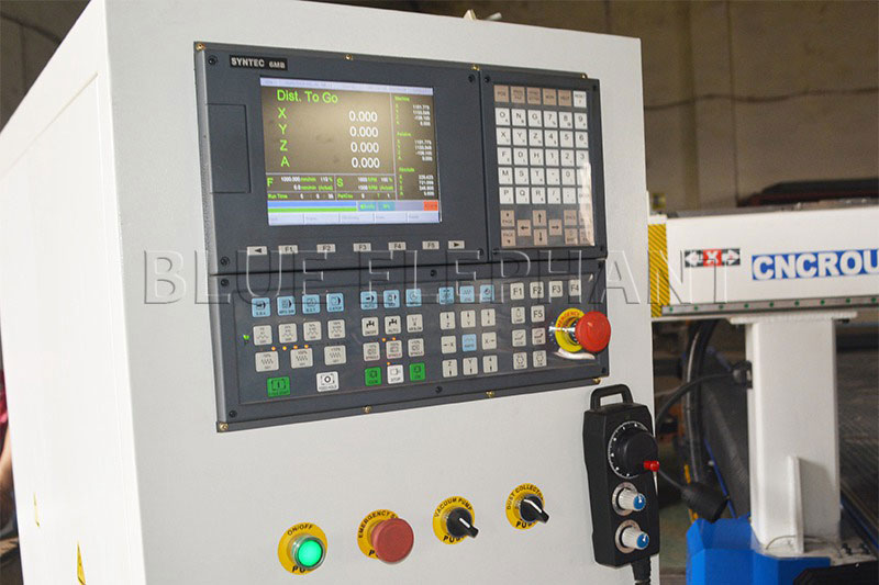 syntec 6mb control system of 2050 oscillating knife cnc cutting machine